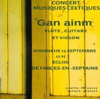 Concert sept 2020